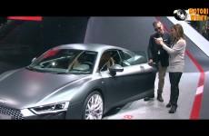 Audi R8… che classe!!!